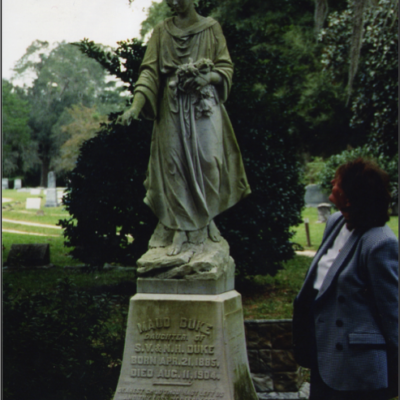 The Original Maud Duke Statue